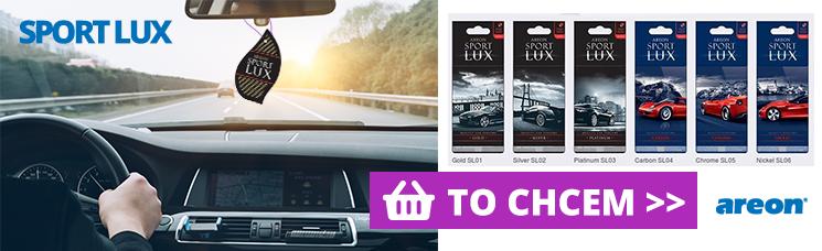 Areon Sport Lux - Vône pre radosť z každej jazdy