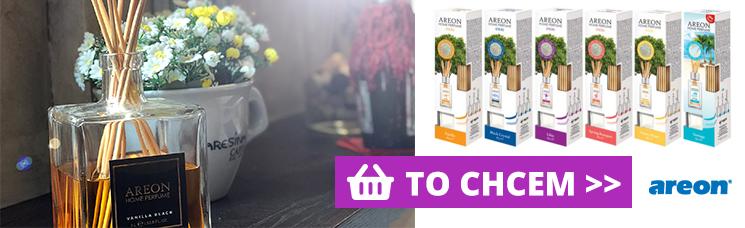 Areon Home Sticks - Bez nich príjemnú atmosféru domova nespravíš