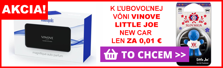 K ľubovoľnej vôni VINOVE Little Joe New Car
