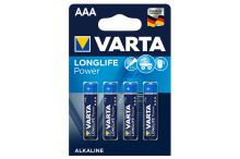 VARTA Longlife Power AAA LR03 1,5V (4ks)