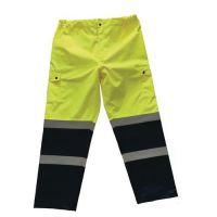 Reflexné nohavice Manutan, žlté/modré, M