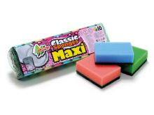 Hubka na riad MAXI mix farieb 10 ks