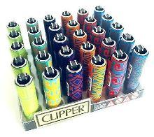 Zapaľovač CLIPPER malý - metalický