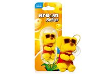 Areon Smile Toy Vanilla - Zlty pes