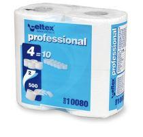 Toaletný papier Celtex Compact 2vr. 55m biely, 4ks/bal.