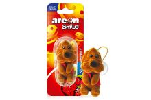 Areon Smile Toy Strawberry - Hnedy pes