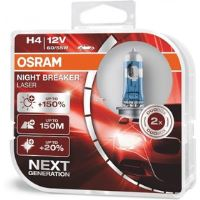H4 NIGHT BREAKER LASER2 Duo box OSRAM