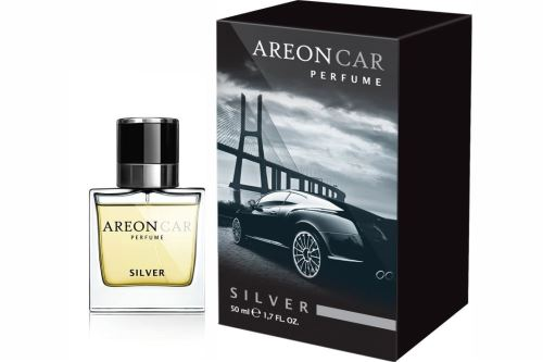 AreonCarParfume Silver NOVY 50ml