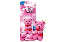 Areon Smile Toy Bubble Gum - Ruzovy macko