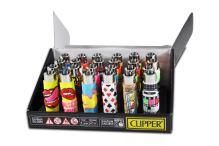 Zapalovac CLIPPER guma, korok - mix obrazkov