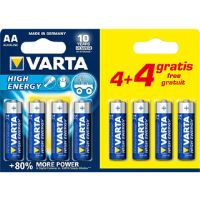 LR6 4+4BP AA Longlife Power Alk VARTA