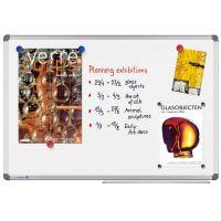 Tabuľa magnetická 90x120cm stierateľná biela Noticeline
