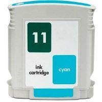 Inkjet cartridge compatible HP C4836A (Nr 11) - cyan 28 ml