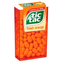 Cukríky Tic Tac orange 18g