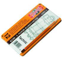 Ceruza grafitová 1502/I tvrdá TECHNIC HB-10H/sada 12